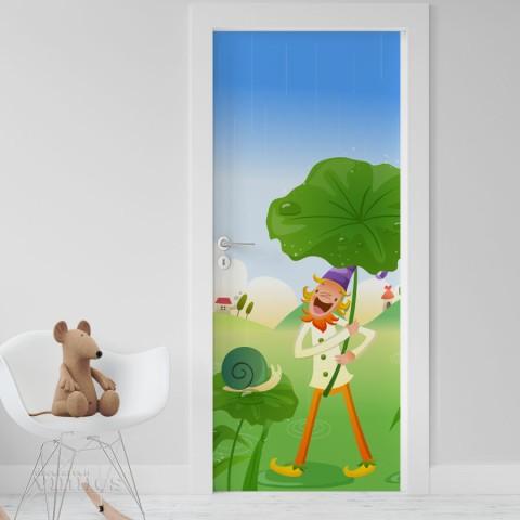 Vinilo Puerta Infantil - Duende 1