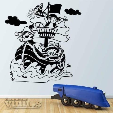 Vinilos Decorativos - Piratas