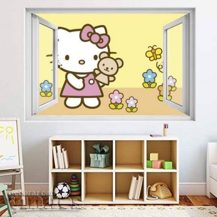 Ventana Infantil - Hello Kitty