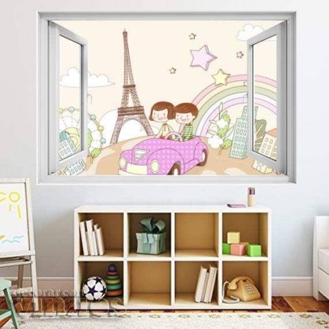 Ventana Infantil - Niños en Paris