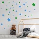 Vinilo 140 Estrellas- 2 colores personalizados
