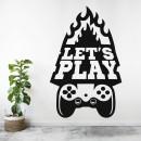 Vinilos Decorativos - Let's Play