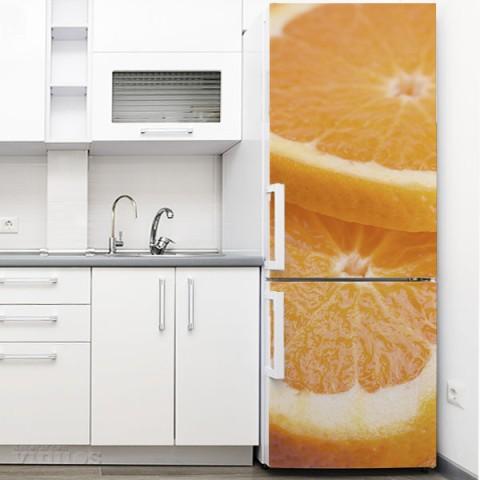 Vinilo para Nevera - Naranjas