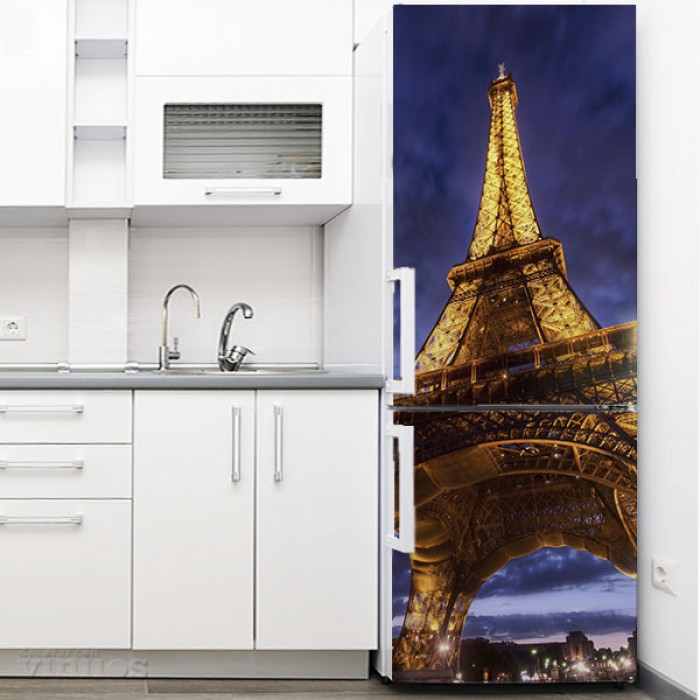 Vinilo para Nevera - Torre Eiffel