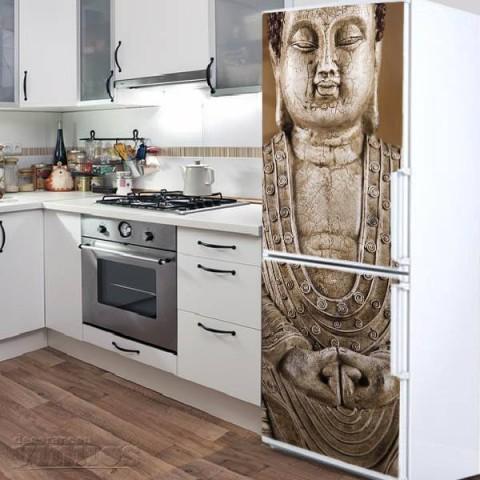 Vinilo para Nevera - Buda