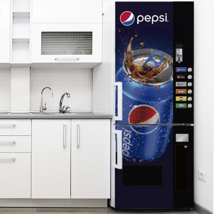 Vinilo para Nevera - Expendedora Lata Pepsi