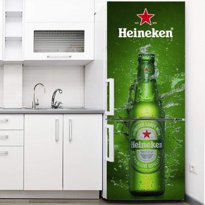 Vinilo para Nevera - Heineken