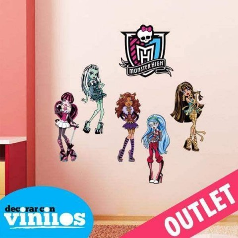 Vinilo decorativo - Monster Hight