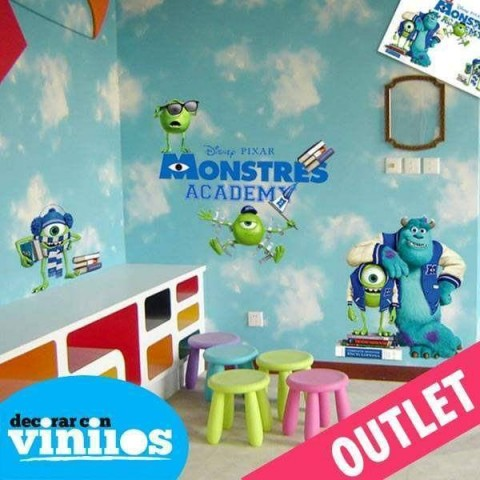 Vinilo decorativo - Monster SA