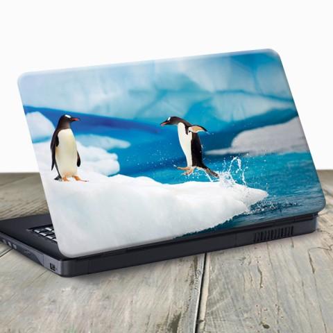 Vinilo para Portátil - Pingüinos