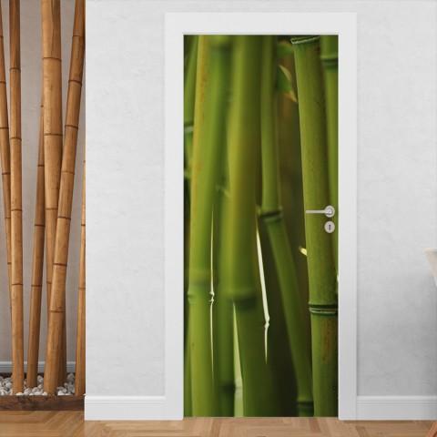 Vinilo para Puerta - Bambu