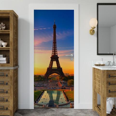 Vinilo para Puerta - Torre Eiffel