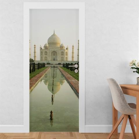 Vinilo para Puerta - Taj Mahal