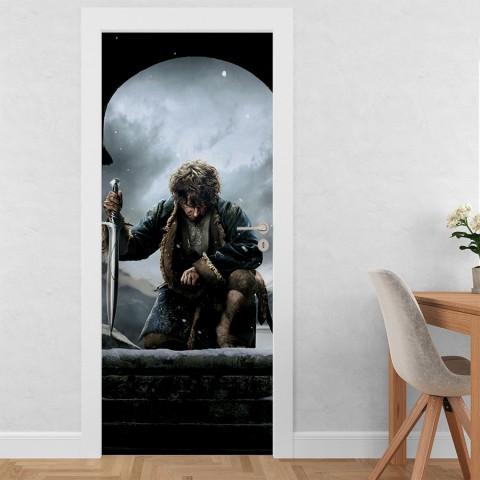 Vinilo para Puerta - El Hobbit 3