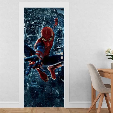 Vinilo para Puerta - Spiderman
