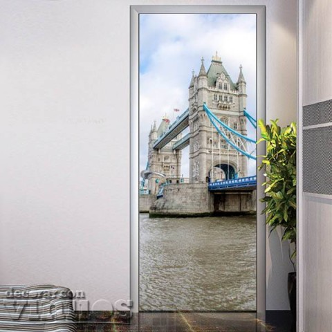 Vinilo para Puerta - Tower Bridge