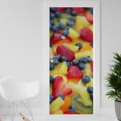 Vinilo para Puerta - Frutas