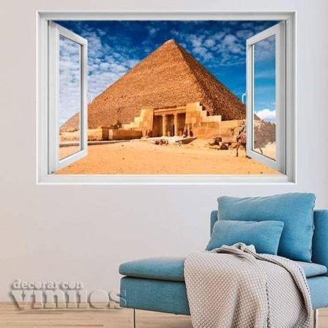 Ventana 3D - Egipto