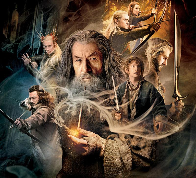 Fotomural -  Hobbit 3