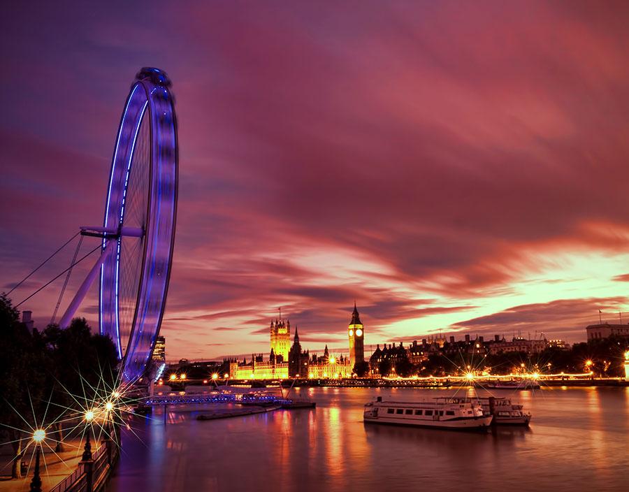 Fotomural - London Eye