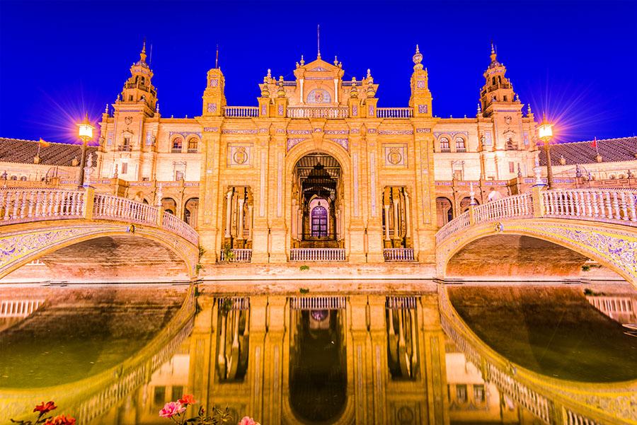 Fotomural - Plaza España Sevilla