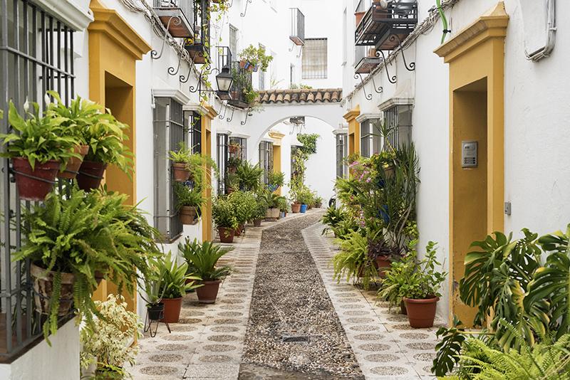 Fotomural - Calle de Córdoba, Andalucia