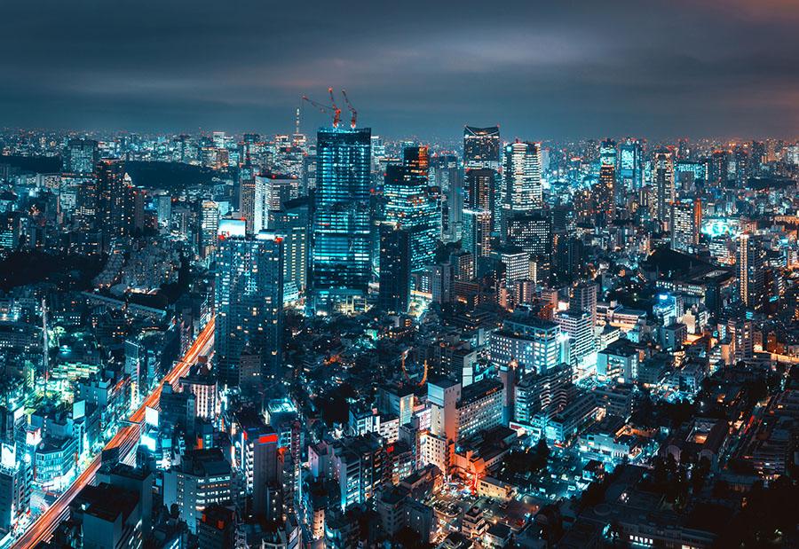 Fotomural - Tokyo