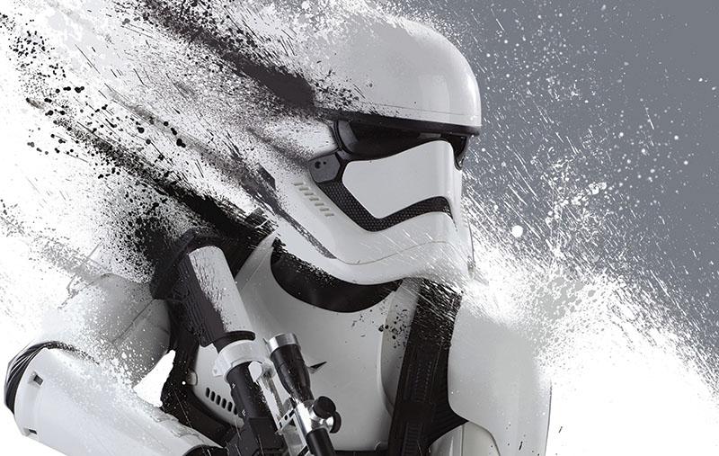 Fotomural -  Satr Wars Storm Trooper