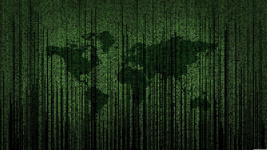 Fotomural - Código Matrix