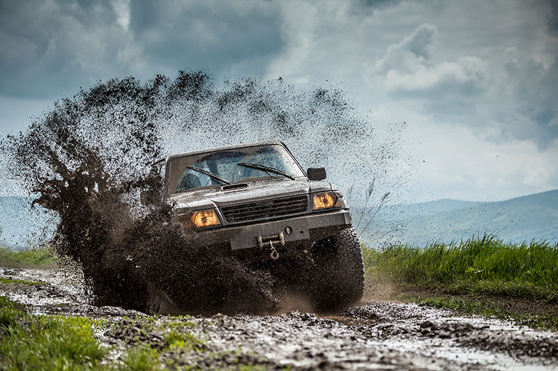 Fotomural - Jeep